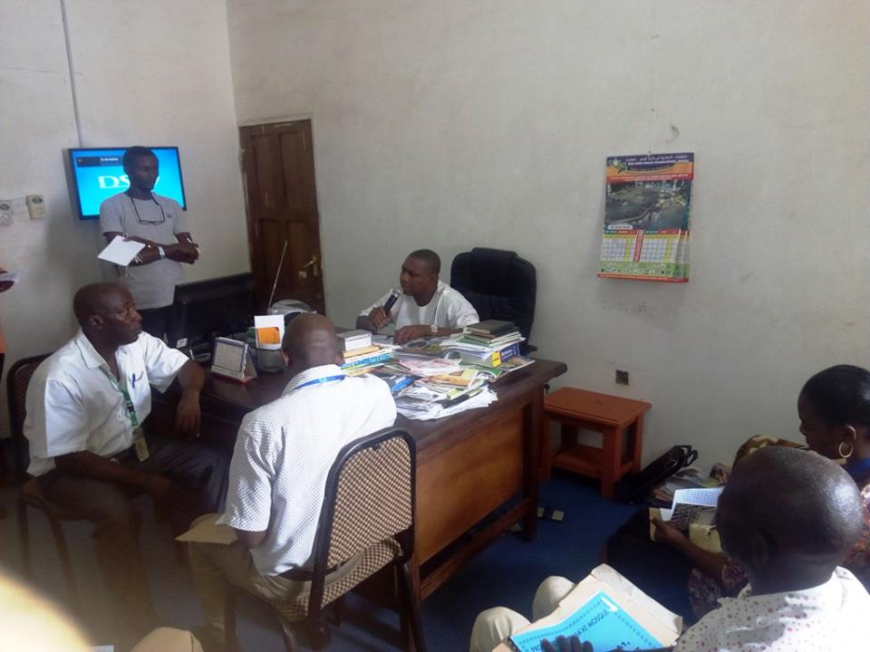 CHRCR Advocacy Visits to Radio Kogi on Anti-corruption, Transparency and Accountability in Elections on