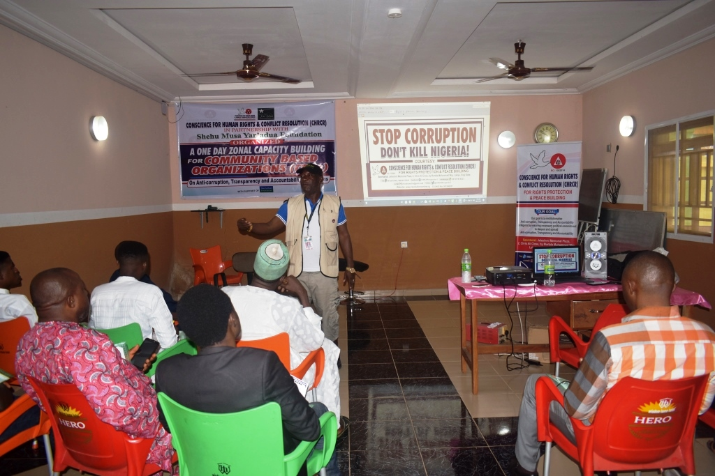 One Day Zonal Capacity Building for Community Based Organizations (CBOs) in Ankpa/Omala/Olamaboro Federal Constituency