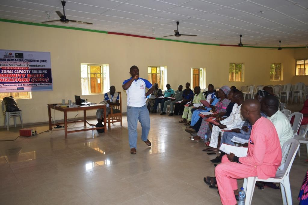 One Day Zonal Capacity Building for Community Based Organizations (CBOs) in Kabba/Bunu/Ijumu Federal Constituency