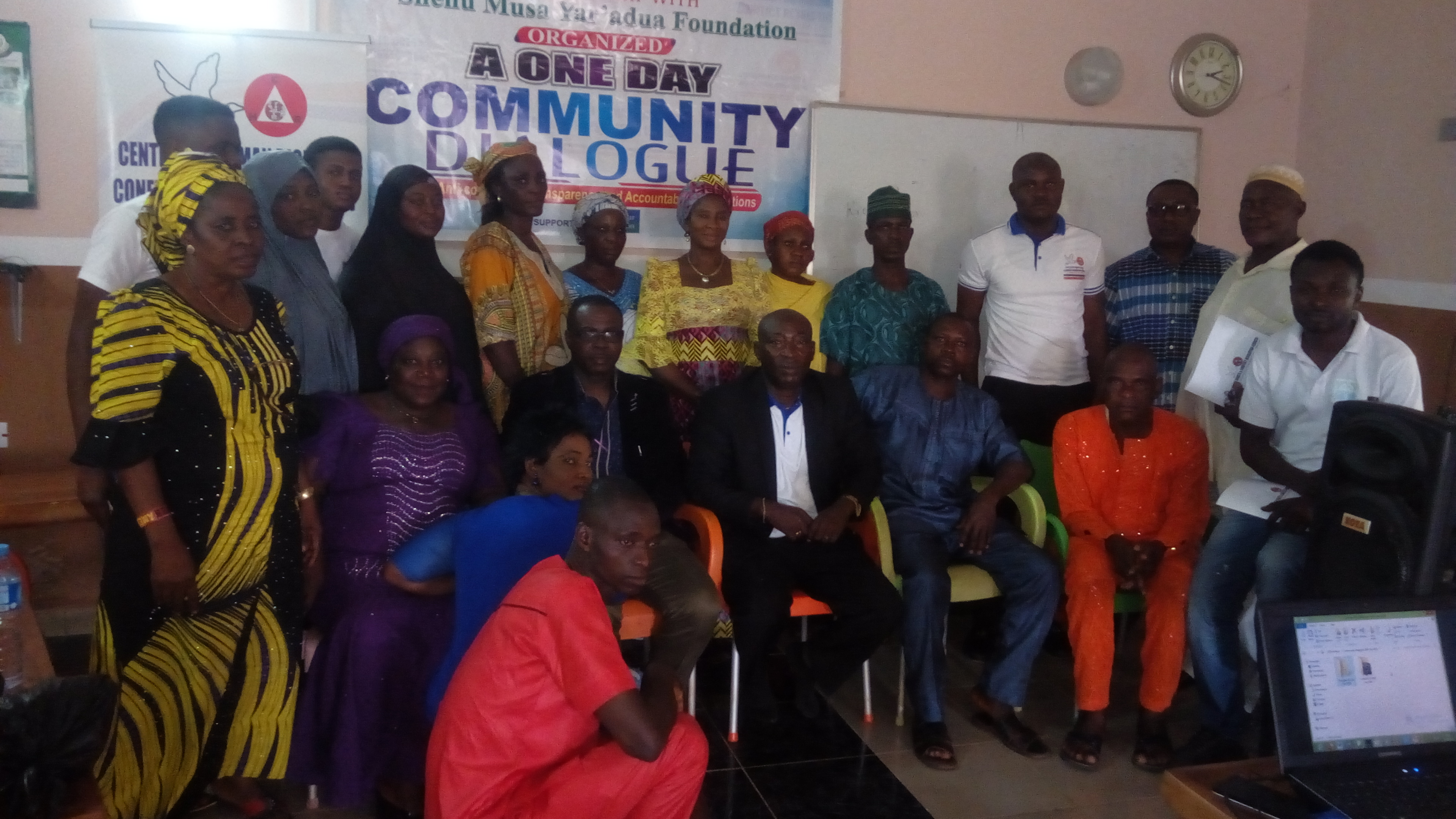 A One Day Community Dialogue @Anyigba