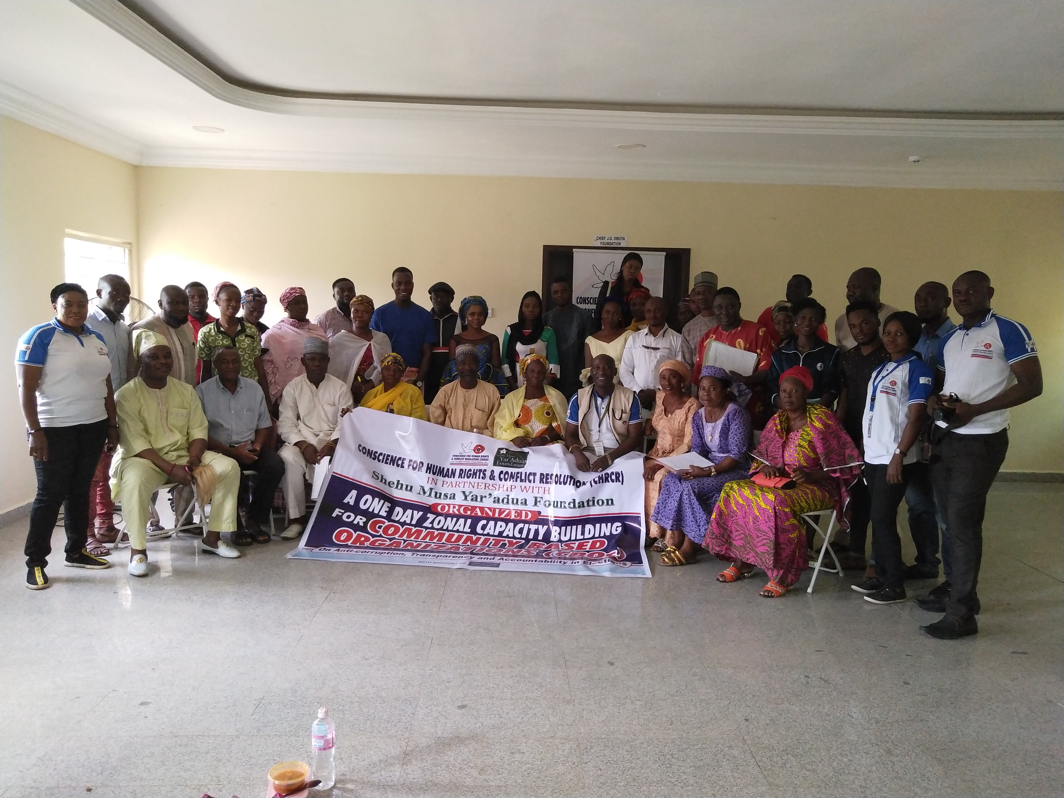 One Day Zonal Capacity Building for Community Based Organizations (CBOs) in Okene/Ogori-Magogo and Ajaokuta Federal Constituency