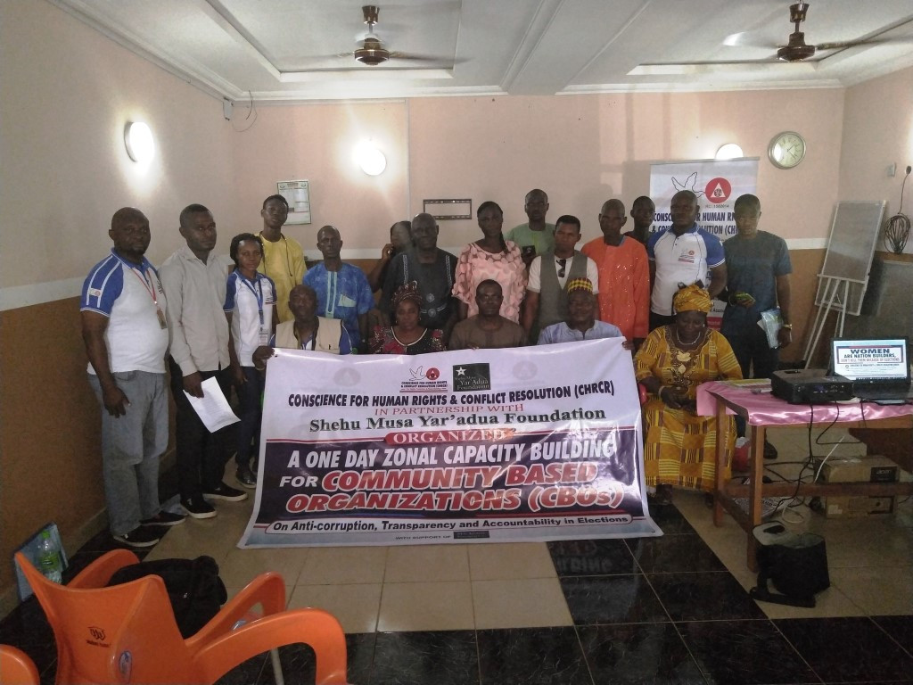 One Day Zonal Capacity Building for Community Based Organizations (CBOs) in Idah/Ibaji/Igalamela/Ofu  Federal Constituency