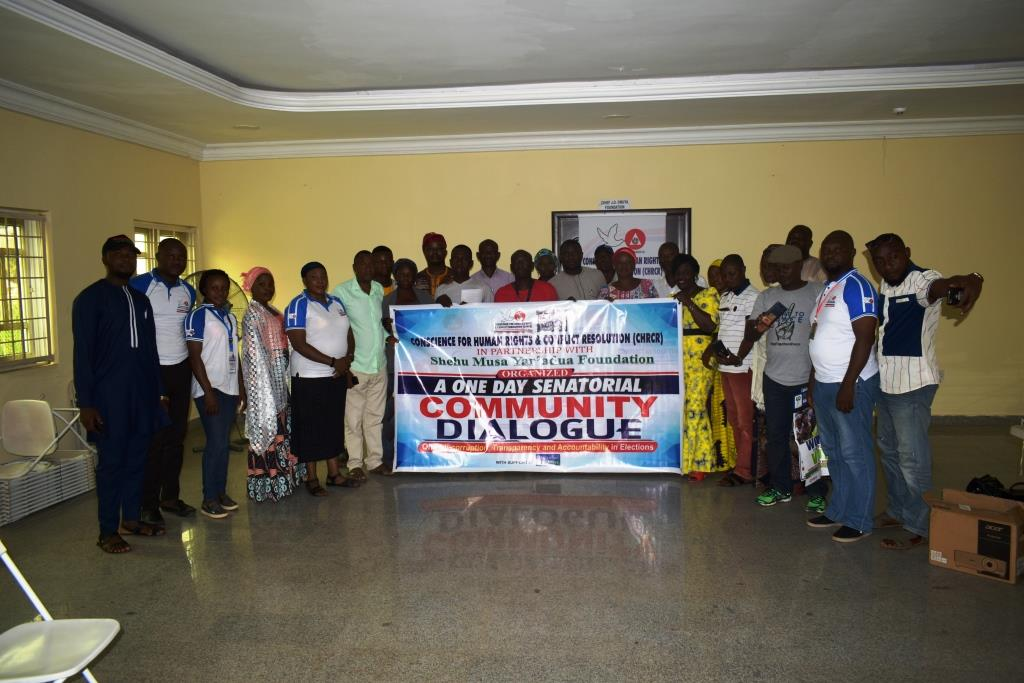 A One Day Senatorial Community Dialogue for Kogi Central Senatorial District